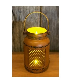 Or Dist LED Mason Jar Light Sm