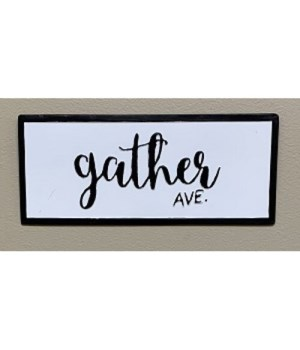 Gather Ave Street Sign