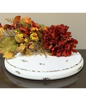 Crm Dist Single Candle Plate M
