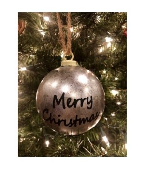 Merry Christmas Gal Ornament
