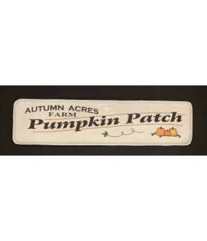 Autumn Acres Metal Sign
