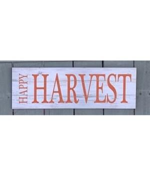 Happy Harvest  Wooden Sign
