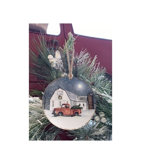 Wintry Weather Ornament