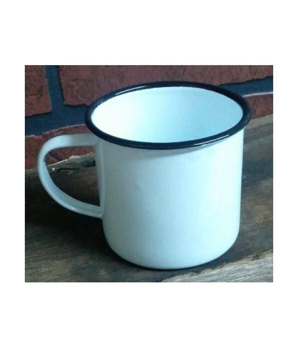 Bk Rim Enamel Coffee Mug4 x 5.5 in.
