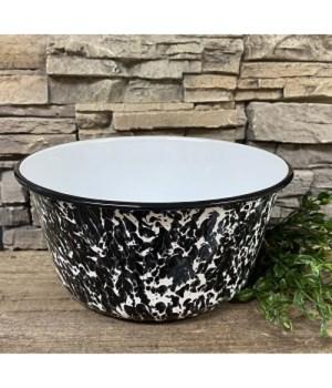Black Splatter Mixing Bowl