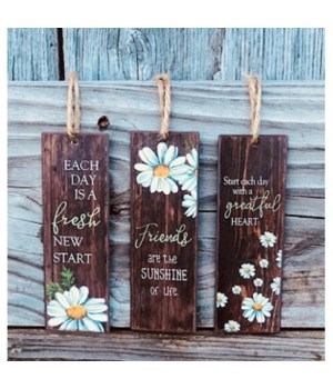Daisy Hanging Tags (Set of 3)