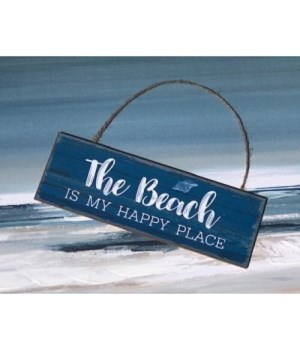 The Beach Happy Place Sign