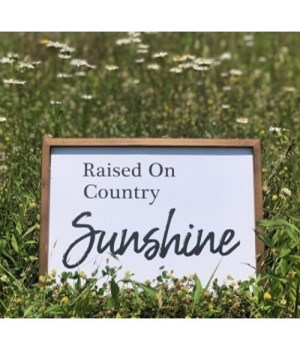 Raised On Country Sunshine Sig
