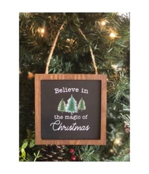 Believe In The Magic Ornament