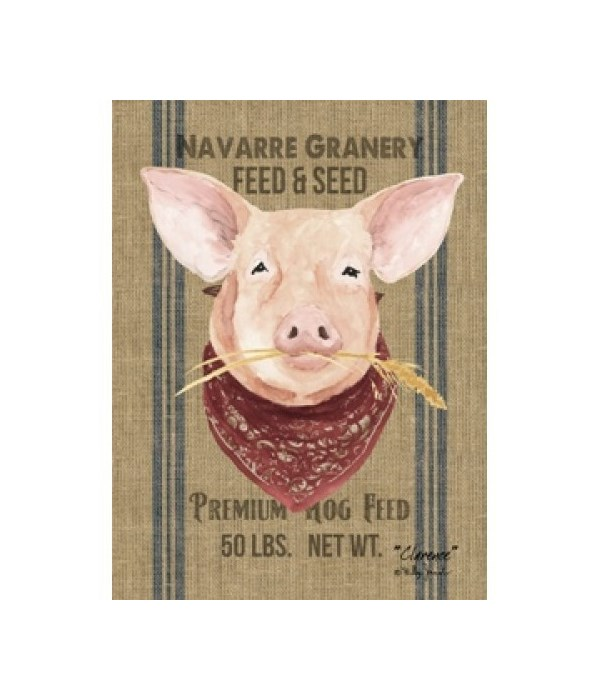 Pig Canvas 16 x 12 in.