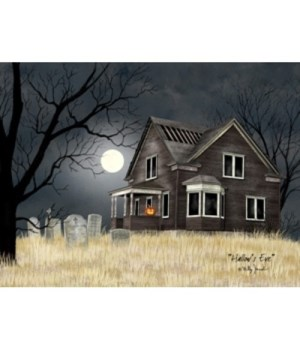 Hallows Eve LED Canvas 8 in.X10 in.