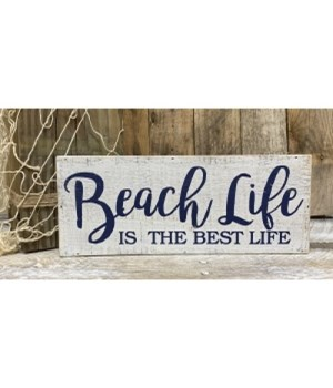 Beach Life Box Sign