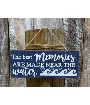 Best Memories Near Water Sign