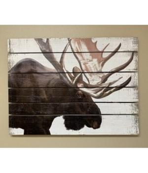 Moose Pallet Sign