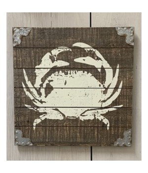 Dist Crab Pallet Sign