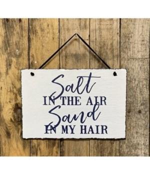 Salt In The Air Slate Hanger