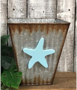 Corrug. Starfish Bucket 10x10
