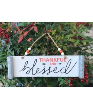 Thankful & Blessed Hanger