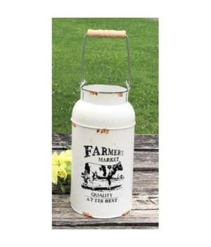 Farmers Market Milk Can 15x5.5
