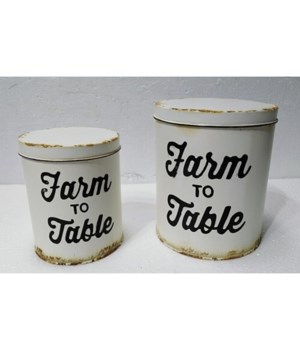 Farm To Table Canisters