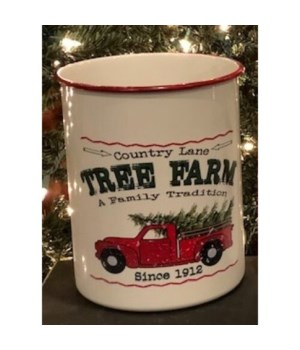 Country Ln Tree Farm Container