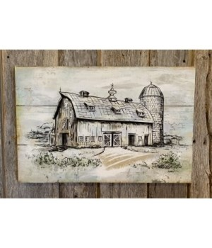 Barn Artwork Box Sign