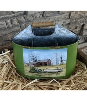 Green Hayride Utility Containe