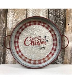 Merry Christmas Rd Chek Met Tray