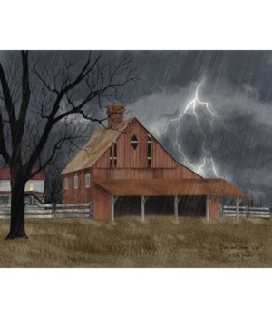 Dark And Stormy Canvas 12 x 16 in.