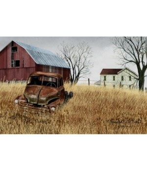 Gdad Ole Truck Canvas 12 x 20 in.