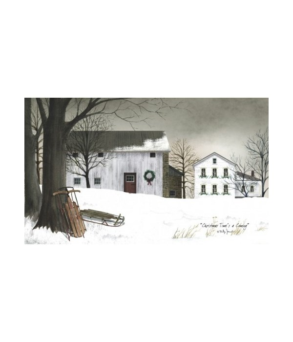 Christmas Time's Canvas 6 x 10 in.