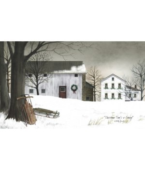 Christmas Time's Canvas 12 x 20 in.