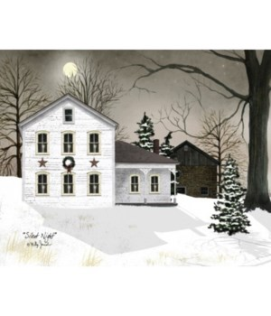 Silent Night Canvas 8 x 10 in.