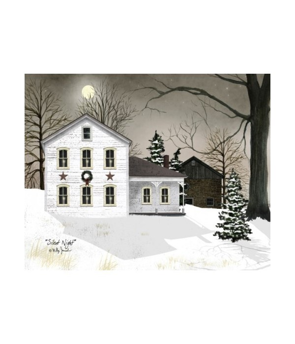 Silent Night Canvas 12 x 16 in.