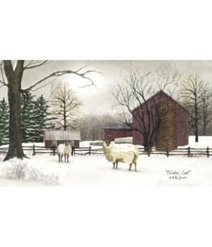 Winter Coat Canvas 12 x 20 in.