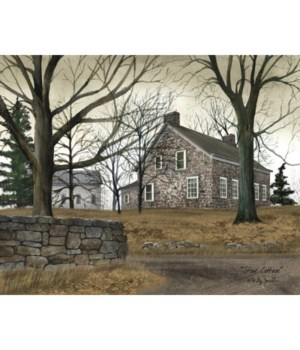 Stone Cottage Canvas 12 x 16 in.