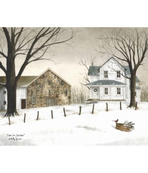 Home/Christmas 12 x 16 in.