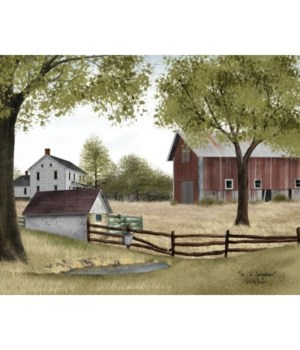 Old Springhouse Canvas 12 x 16 in.