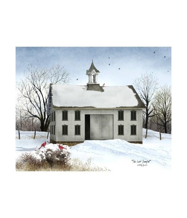 Last Snowfall Canvas 8 x 10 in.