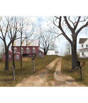 Old Dirt Road Canvas 12 x 16 in.
