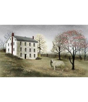 Spring At White Canvas 12 x 20 in.