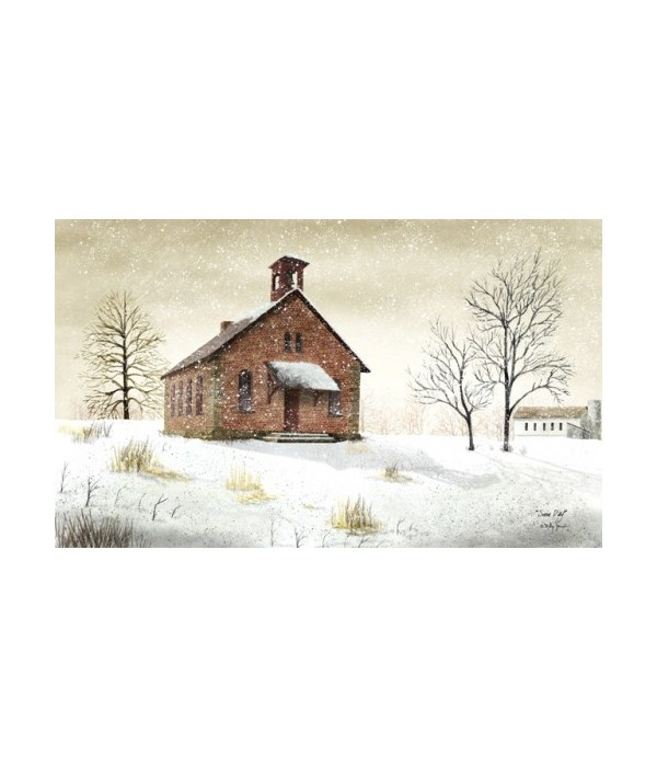 Snow Day Canvas 6 x 10 in.