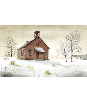 Snow Day Canvas 12 x 20 in.
