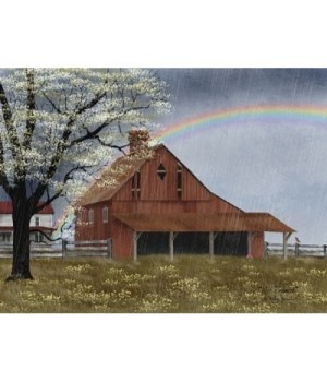 His Promise Canvas 24 x 32 in.