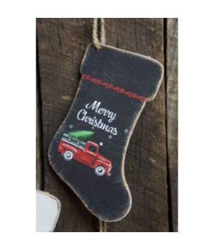 Merry Christmas Truck Boot Orn
