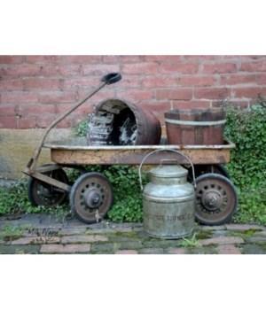 Milk Wagon 12 x 16 in.