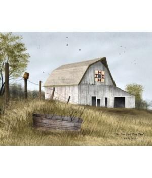 Ohio Star Quilt Block Barn