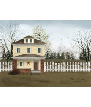White Picket Fence 12 x 16 in.