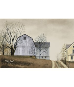 White Barn 12 x 18 in.