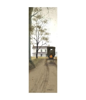 Amish Buggy 18 x 6 in.
